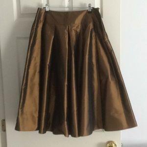 Pure silk Talbots skirt